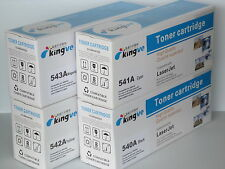 4PK CMYK Compatible Toner for HP CB540A 541A 542A 543A fits CP 1210 1510 1515