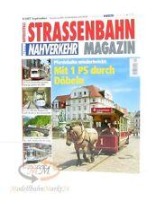 STRASSENBAHN MAGAZIN Nahverkehr 9/2007 September mit 1 PS durch Döbeln GeraMond