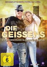 4 DVDs* DIE GEISSENS - EINE SCHRECKLICH GLAMOURÖSE FAMILIE - STAFFEL 4 # NEU OVP