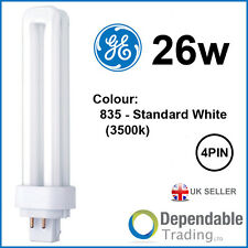 GE 26W BIAX D/E économie d'énergie 4 broches blanc standard G24q-3