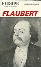 REVUE LITTERAIRE EUROPE N°485-486-487 - FLAUBERT  - 1969