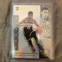 De'Andre Hunter 2019-20 Panini Illusions Atlanta Hawks Base RC Card #181 Rookie