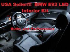 18x BMW 3 Series E92 White LED Interior lighting kit 328i / xi 330i 335i / xi M3
