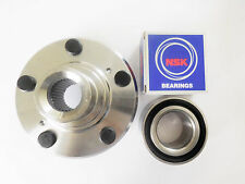 1 Front Wheel Hub W/NSK Japanese Bearing Set For 97 - 01 HONDA CR-V / PRELUDE