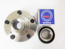 1 Front Hub With OEM NSK or NTN Wheel Bearing Set For HONDA CR-V / ACURA RDX