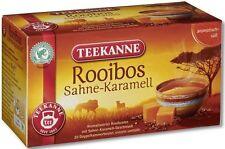 Teekanne South African ROOIBOS Tea:Cream & Caramel- 20 tea bags- Made in Germany