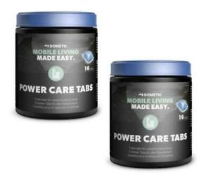 TWIN PACK Dometic PowerCare Toilet Tabs Ideal For Motorhome / Caravan & Camping