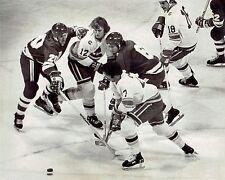 1976 Original Photo Minnesota North Stars & Colorado Rockies Hockey Game Action