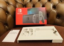 OFFICIAL Nintendo Switch GREY EMPTY BOX Packaging Only |GOOD CONDITION|