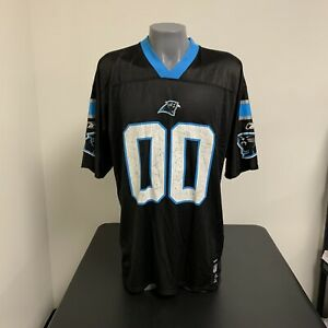 Carolina Panthers NFL Football Jersey Reebok Double Zero Mens XL