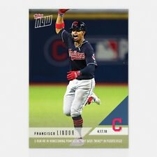 2018 TOPPS NOW #89 FRANCISCO LINDOR 2-RUN HR IN HOMECOMING IN PUERTO RICO
