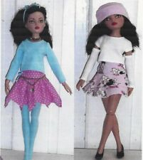 "Sewing Pattern Fits 16"" doll Ellowyne Wilde and other fashion doll same size"