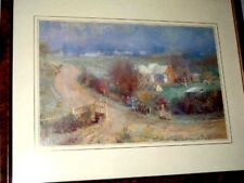 """""""A Bright Winter's Morning"""" by Walter Withers 1894 Framed Print 54x44cm"""