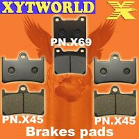 FRONT REAR Brake Pads for Yamaha YZF 600 R Thunder cat 1996-2003