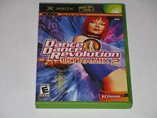 Dance Dance Revolution Ultramix 2 (Xbox, 2004) COMPLETE