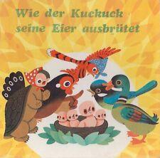 Lin Songying: WIE DER KUCK SEINE EIER AUSBRÜTET (1982) Kinderbuch DDR China Ost