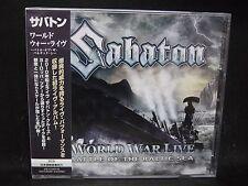 SABATON World War Live-Battle Of The Baltic Sea JAPAN 2CD Stormwind Nocturnal Ri