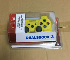 New Official OEM For Sony PS3 Bluetooth Wireless Dualshock 3 Controllers Yellow