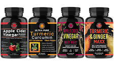 Weight Loss Helath ACV, Ultra Pure Turmeric, ACV  Beet Root and Turmeric Ginger
