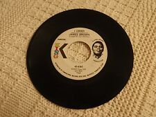 JAMES BROWN I CRIED/WORLD PART 2  KING 6363 PROMO