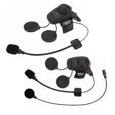 Sena SMH5 Bluetooth Kommunikationssystem Headset Motorrad Helm Sprechanlage 2x