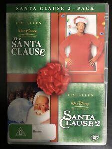 The Santa Clause / Santa Clause 2 DVD 2-Disc Region 4 Tim Allen Walt Disney