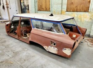 1963 Ford Galaxie Country Squire Station Wagon PARTING OUT