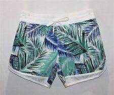 NOW Brand Tropical Palm Print Board Shorts Size 10 BNWT #TE82