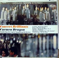 CARMEN DRAGON concert brilliants LP VG+ SP 8559 Vinyl  Record