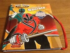 Power rangers samurai secrets book
