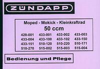 Zündapp GTS KS Sport Combinette Zigarren Auspuff 30mm 510 515 ohne Halter