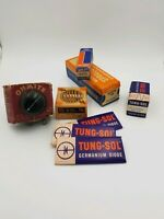 Rare Vintage Estate Lot 1950s 60s electronics Tubes,TV Radio Old Stock tung-sol