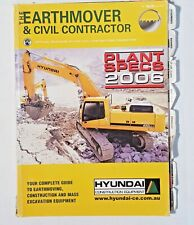The Earthmover and Civil Contractor Plant Specs 2006
