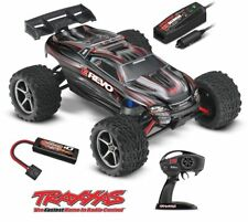 Traxxas E-Revo Black 4WD Brushed XL-2.5 RTR RC Electric Monster Truck 1/16 Scale