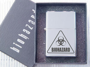 Resident Evil Biohazard (Logo) Metal Case