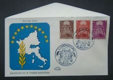 1957 Pax Europe Set On Fdc Luxembourg Luxemburg B104.32 0.99$