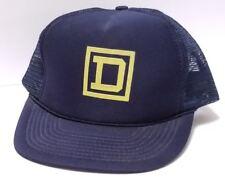 VINTAGE Square D Snapback Cap Trucker Hat