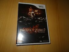 Project Zero 2 -- Wii Edition Nintendo Wii  game new sealed uk pal