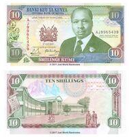 Kenya 10 Shillings 1990 P-24b Banknotes UNC