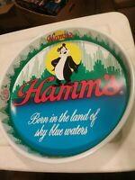 New condition Vintage Hamm's Bear Beer Tray 1981 Olympia Brewing Co.