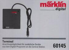 ** Märklin 60145 terminal para Märklin Central Station CS 2,cs 3 Plus, nuevo embalaje original **