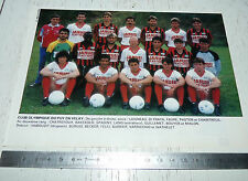 CLIPPING POSTER FOOTBALL 1988-1989 CLUB OLYMPIQUE DU PUY EN VELAY