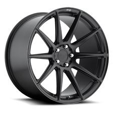 Niche Essen M147 18X8 5X114.3 +40 Black Matte Rims Fits Acura Honda Scion Mazda