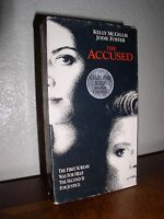 The Accused starring Jodie Foster & Kelly McGillis (VHS, 1996)