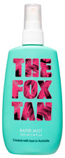 THE FOX TAN Rapid Tanning Mist Tan Tanning Accelerator 120ml - SAME DAY DISPATCH