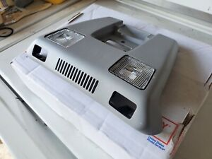 Mercedes R129 AMG NEW dome light cover / electrical housing frame & new lenses