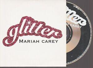 Mariah Carey Glitter Cd Promo France French Cardsleeve .
