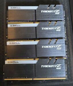 32 GB GSKILL TridentZ RGB DDR4 2666mhz