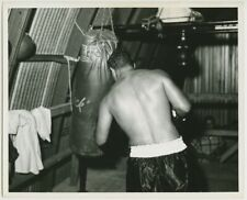 1950's ROCKY MARCIANO Vintage Boxing Photograph HEAVYWEIGHT CHAMPION HOF'er
