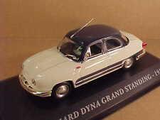 Altaya 1/43 Diecast 1958 Panhard Dyna Grand Standing, White & Slate Blue #AFCY02